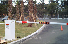 Security Barrier Gates