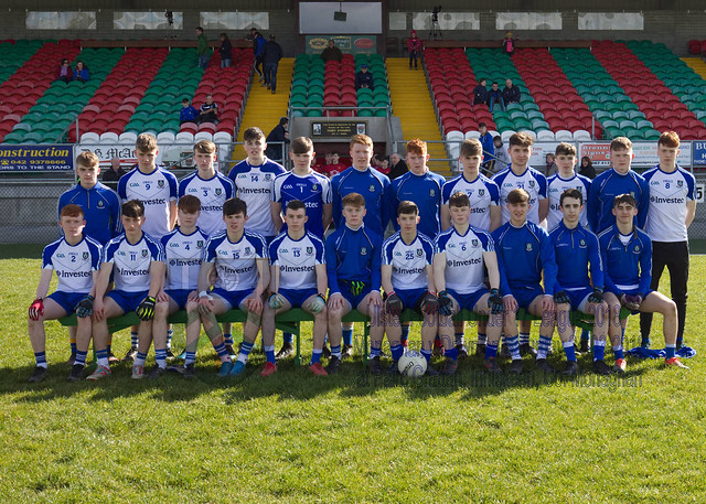 Monaghan v Down - Ulster Under 17 Football League 2018