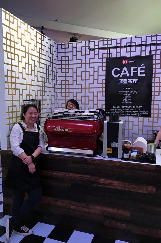 HSBC Cafe, Hong Kong 2018 - La Marzocco