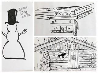 Mindi's Urban Sketching today | by karen.padgett