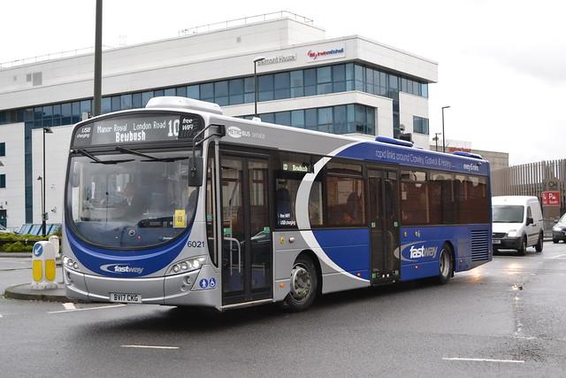 Metrobus 6021 BV17CKG