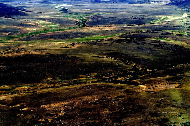 Vista aérea parcial. Patagonia Argentina