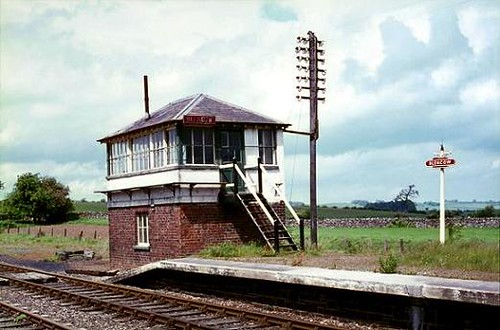 Blencow Signal Box | As stated, all remaining boxes on the f… | Flickr
