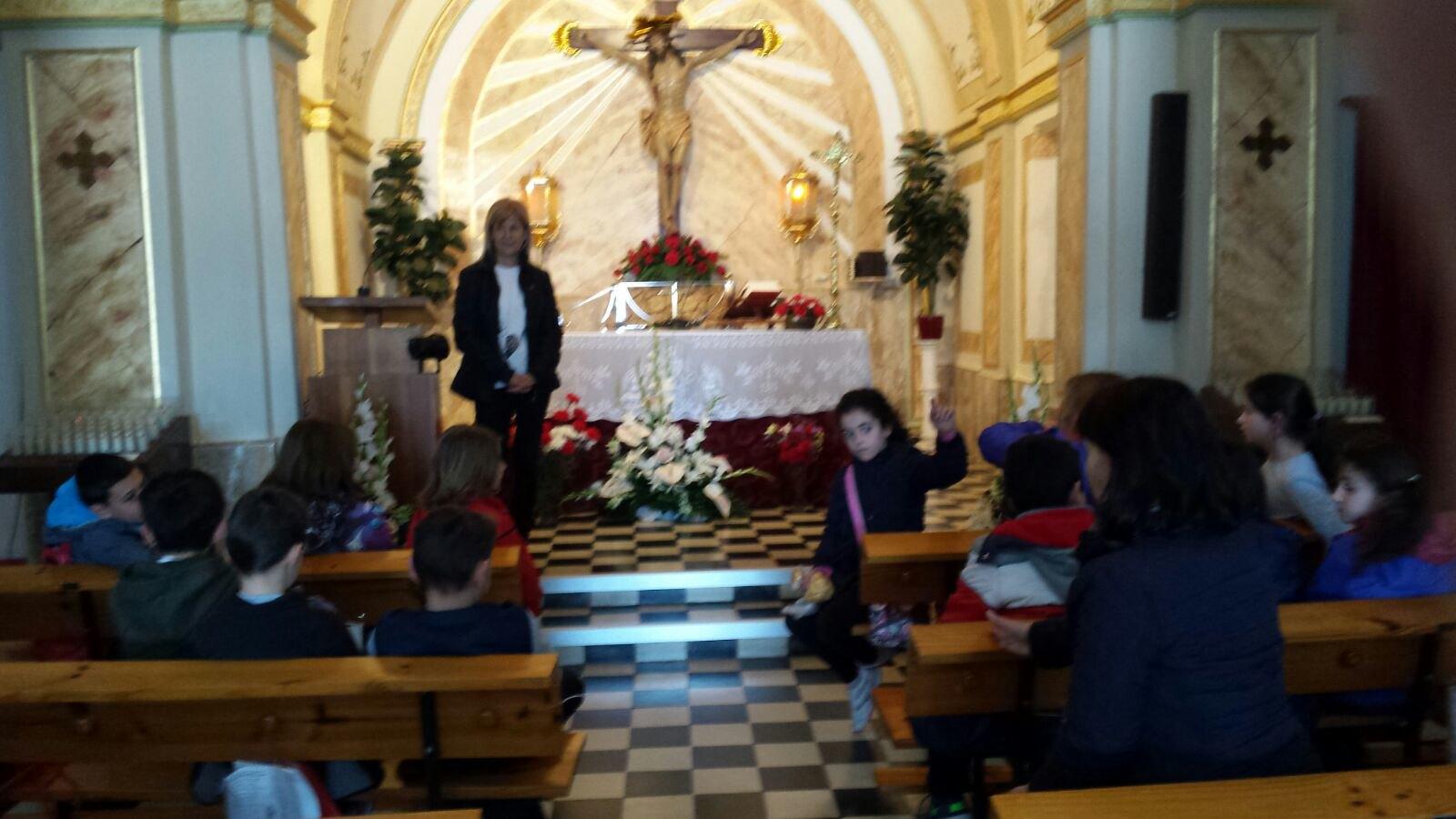 (2018-03-16) - Visita ermita alumnos Laura,3ºB, profesora religión Reina Sofia - Marzo -  María Isabel Berenguer Brotons (10)