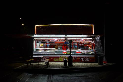 Kiosk in Milan, Italy