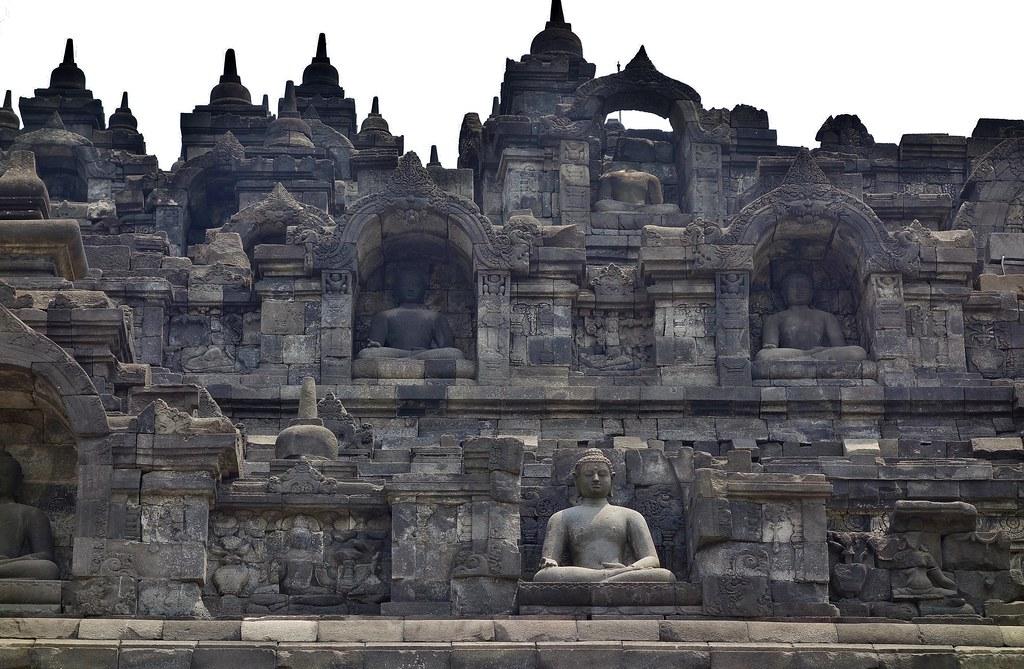INDONESIEN,Java, Borobudur - buddhistische Tempelanlage, 17260/9780