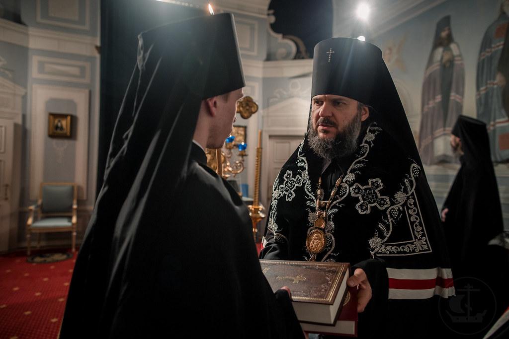 20 марта 2018, Монашеский постриг. Монах Никон / 20 March 2018, Monastic vows. Monk Nikon
