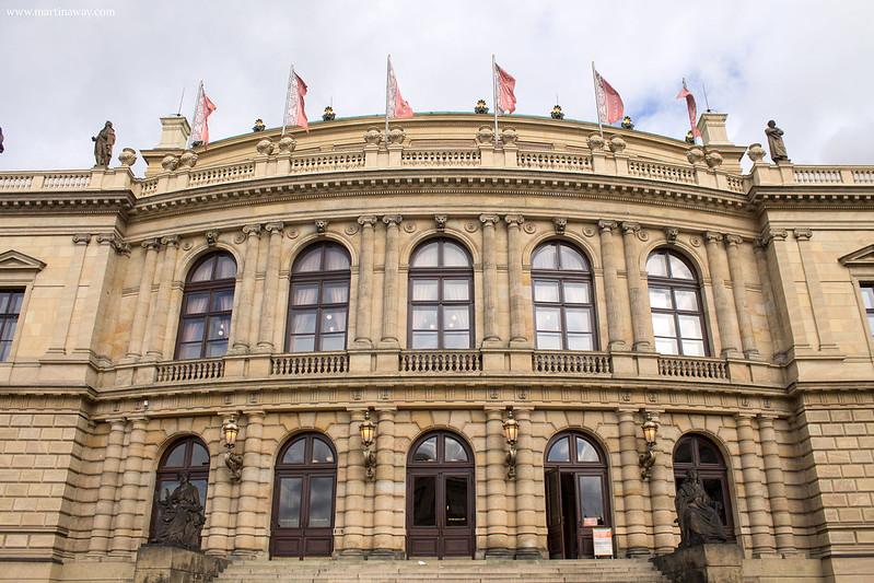 Rudolfinum, film girati a Praga
