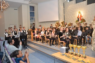 "Massed Band med ""Dance You Off"""
