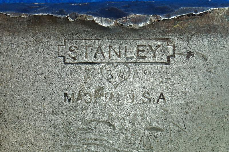 RD17883 Vintage Stanley 4 Square Hatchet Axe Sweetheart Logo DSC05148