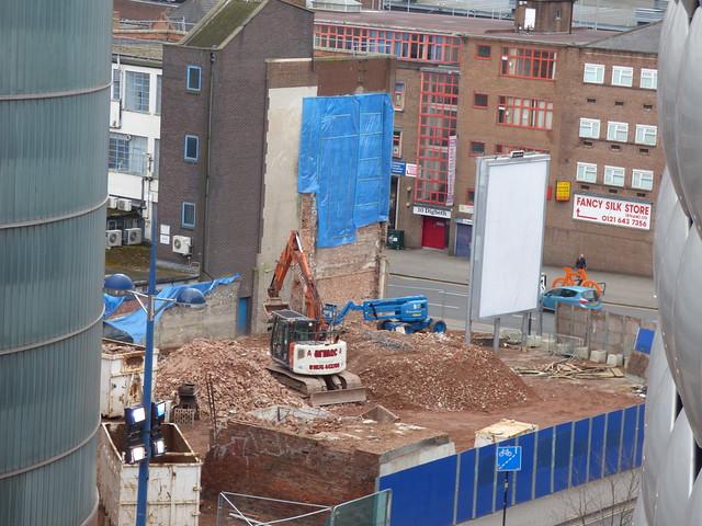 Resumption of Beorma Quarter demolition