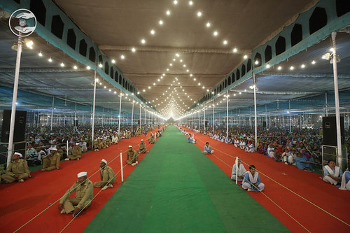 View of Satsang Pandal