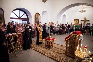 Соборование в Спасском соборе 150