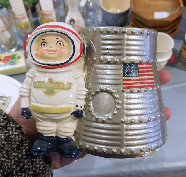 Space Man Planter