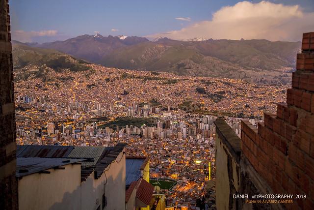 La Paz desde El Alto
