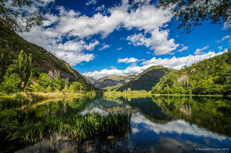La Vall de Boí desde el Salencar de Barruera