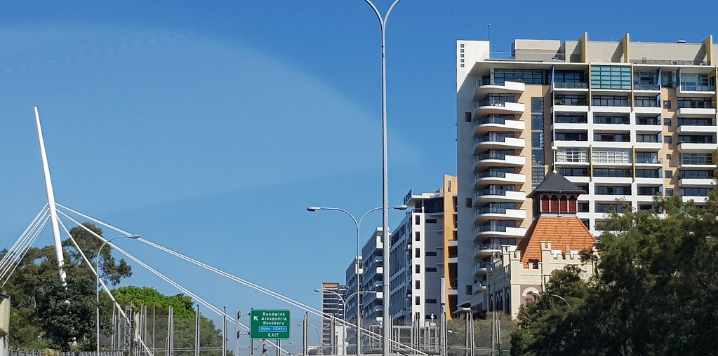 Apartments in Zetland, NSW.