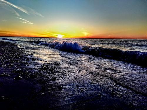 ontario sarnia beachbum spring beach canada lakehuron sunset