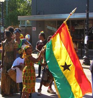 Ghana's Flag