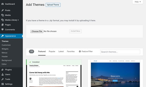 WP Add theme | by yaulaannl