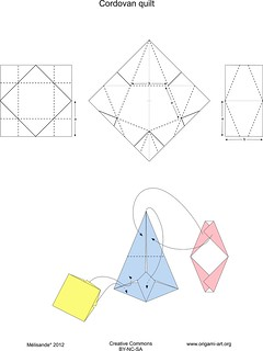Cordovan quilt diagram | by Mélisande*
