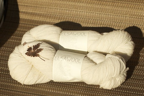 Elsawool woolen spun fingering | by shinycolors