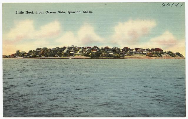 Little Neck, from ocean side, Ipswich, Mass.