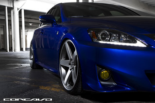 Lexus Is 250 F Sport On Concavo CW-5