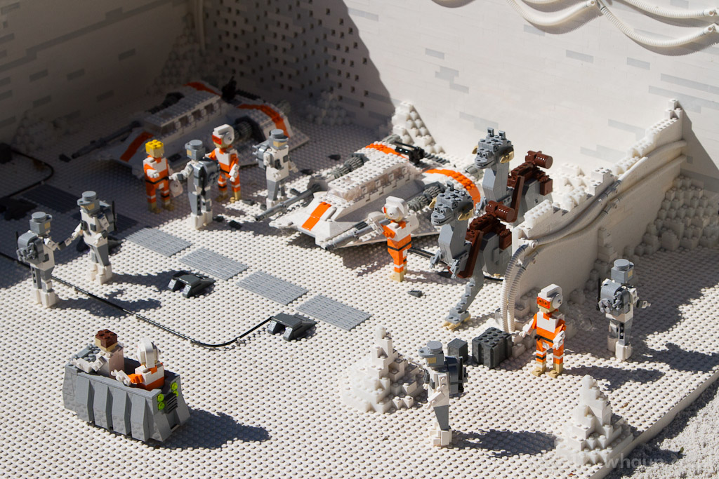 Lego Star Wars Miniland Exhibit At Legoland Florida Nov 2 Flickr