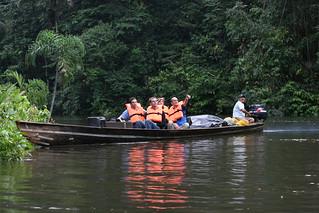 Reserva de Producción Faunística Cuyabeno, recorrido por el río Cuyabeno
