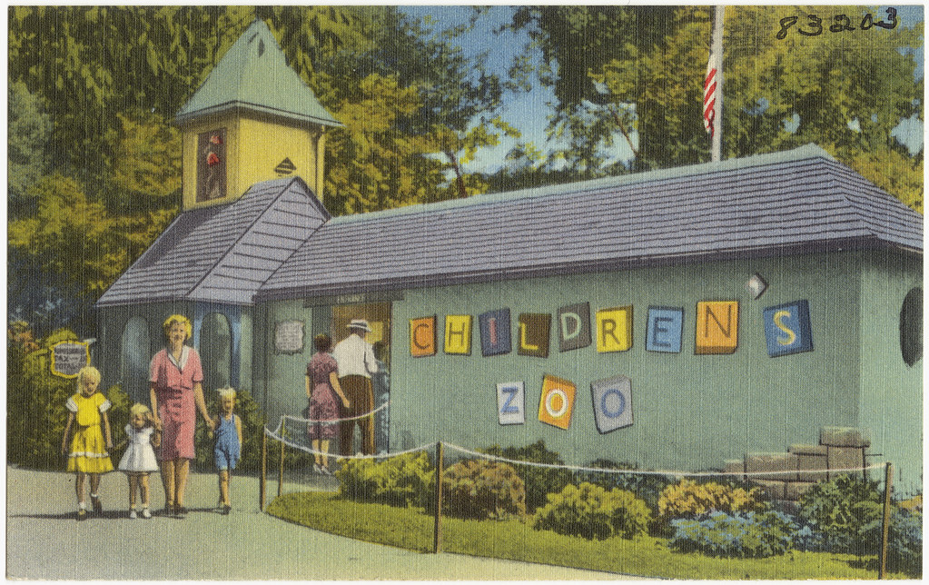 Entrance To Children S Zoo Belle Isle Detroit Michiga Flickr