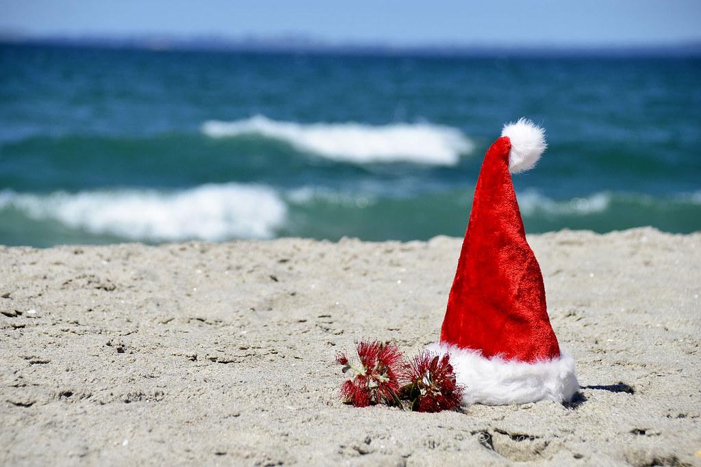 Christmas Beach.Christmas On The Beach We Don T Want No Holly Or Mistletoe