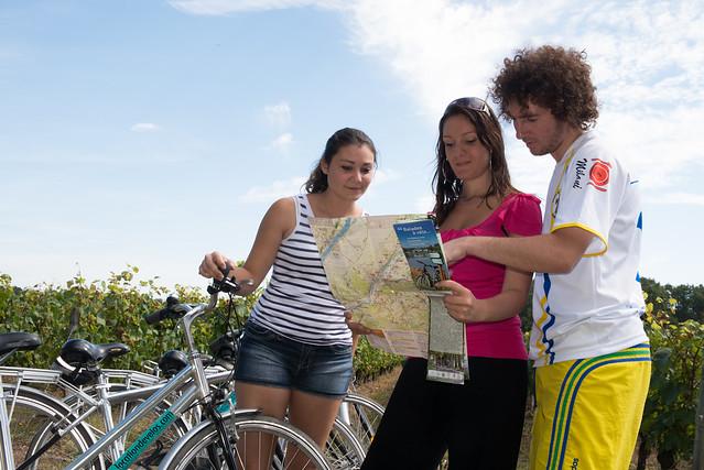 Randonnée à vélo dans le Coeur Val de Loire
