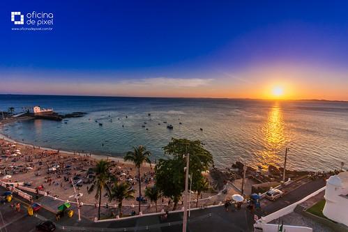 pordosol portodabarra barra sunset ngc bahia brasil beach praia mar coastline