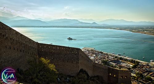 greece nafplio palamidi landscape water photography hdr vaproductions vasilisalexadratos canon sea