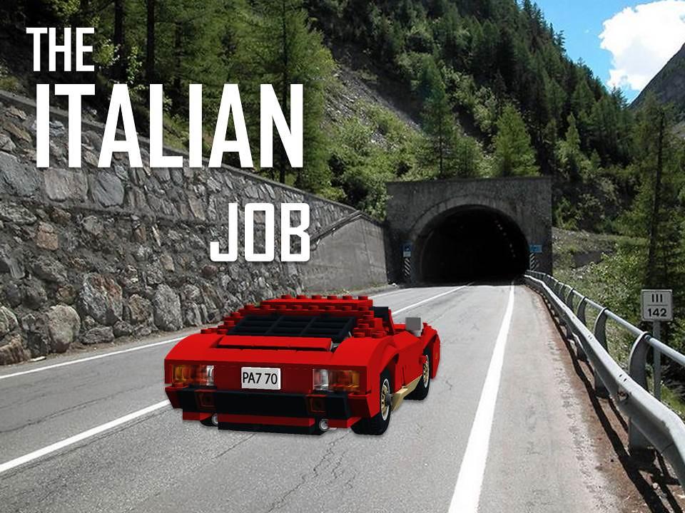 Lamborghini Miura The Italian Job Peter Blackert Flickr