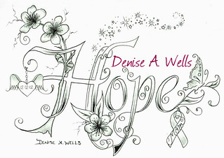 Hope Cherry Blossom Tattoo Design By Denise A Wells Flickr