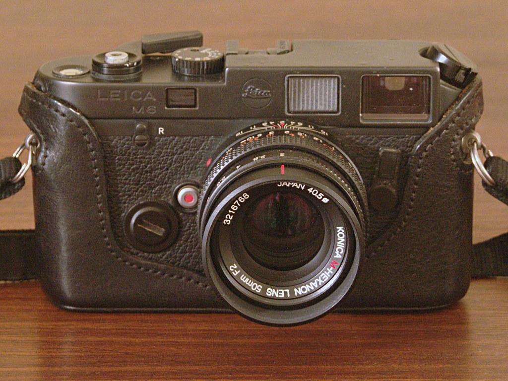 Foto & Camcorder Leica M6 Schwarz Analoge Fotografie