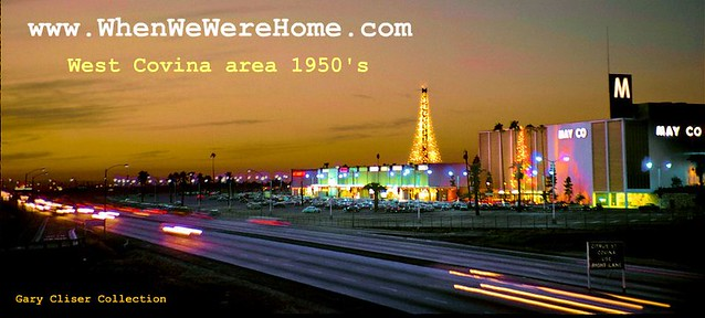 VINTAGE SAN GABRIEL VALLEY - 1950's and 1960's