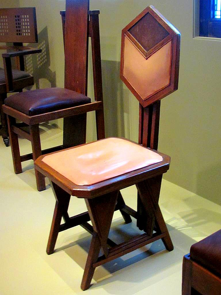 Frank Lloyd Wright Peacock Chair Imperial Hotel 1 Flickr
