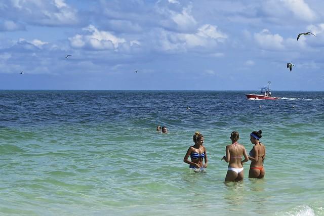 Cancun beach Mexico 2013