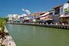 Melaka – kanál vedoucí do přístavu, foto: Daniel Linnert