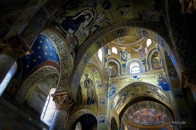Palermo: Chiesa della Martorana (dettagli).