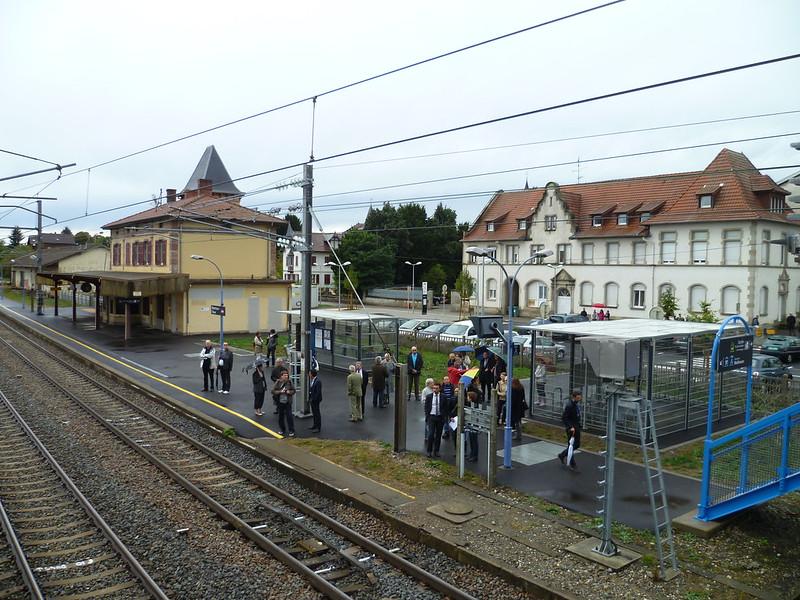 Visite aménagements de la Gare