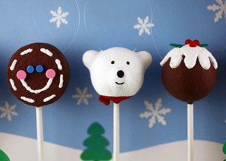 Cake Pops Ornaments | by Bakerella
