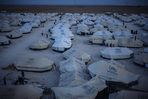 Winter is coming: Za'atari refugee camp, Jordan | by DFID - UK Department for International Development