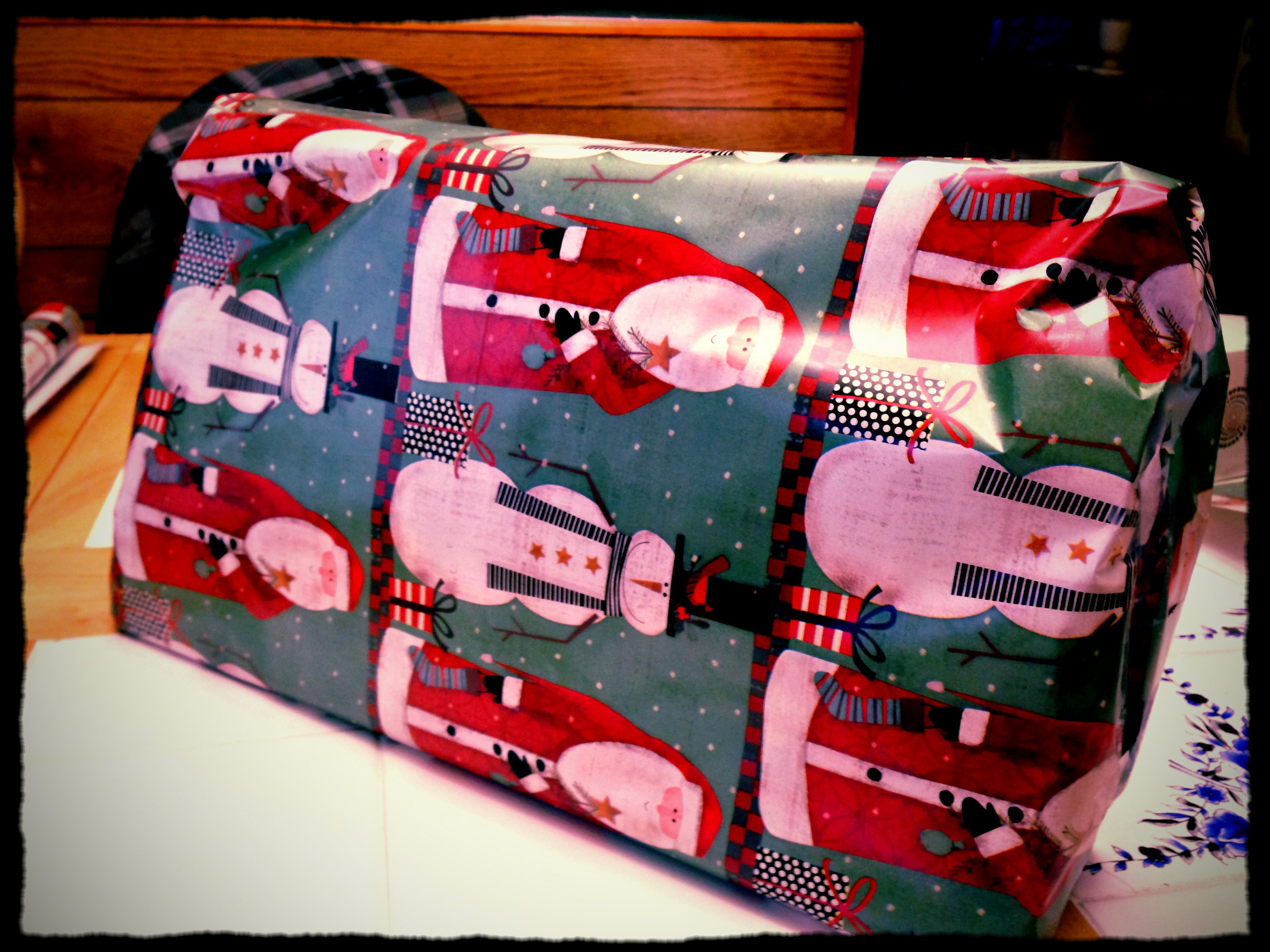 I'm the worst gift wrapper ever.