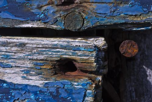 wood blue weather boat rust paint nail sail mayo achill eroded fullard frankfullard
