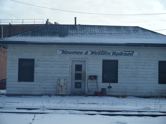 Napoleon Defiance and Western Railroad office