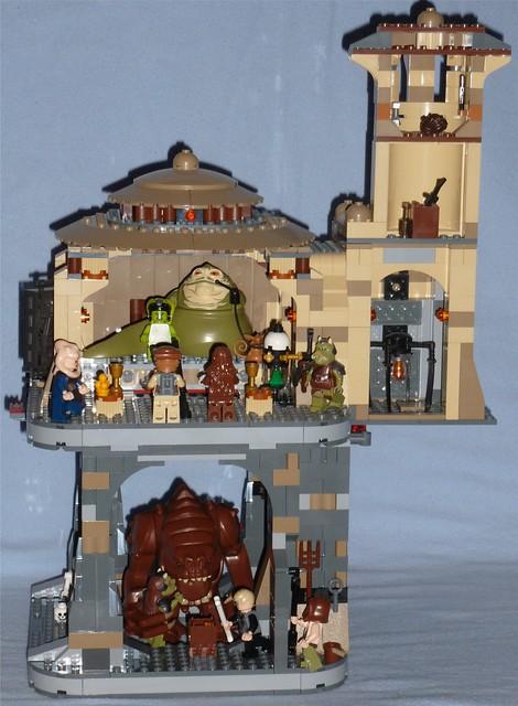 Lego Jabba's Palace + Rancor Pit